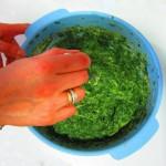 mezclar masa buñuelos