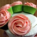 Montaje del ramo de cupcakes