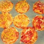 para hornear mini pizzas