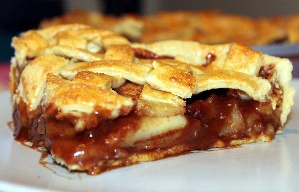 Pastel de manzana americano
