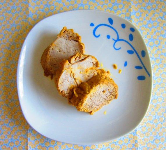Solomillo de cerdo en salsa con orejones y ciruelas pasas - Carne con ciruelas pasas ...