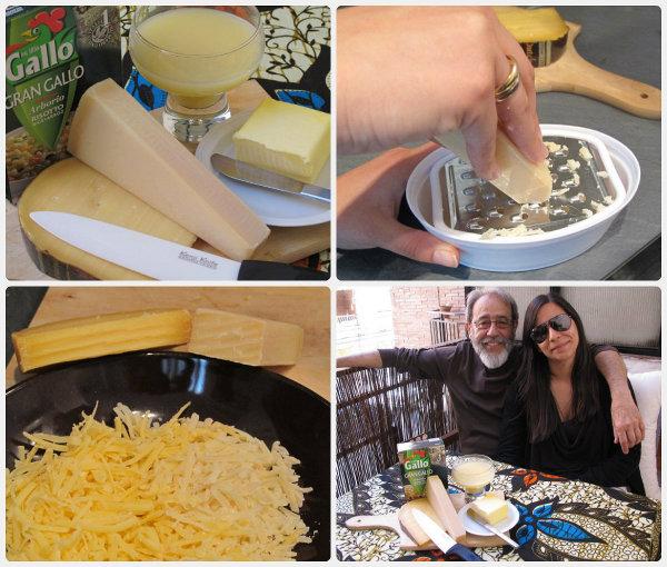 ingredientes del risotto de queso