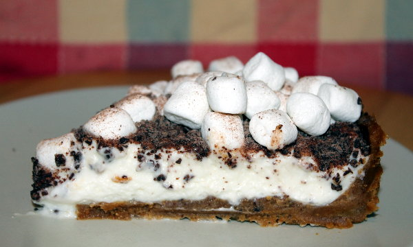 pastel de marshmallows