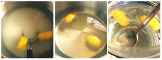 Preparación del jarabe ligero