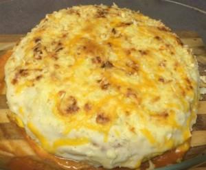 Tarta de tortillas horneada