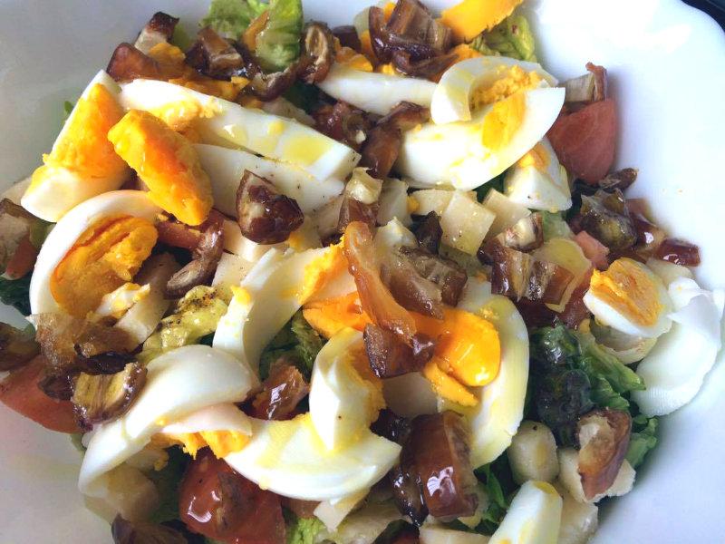 Ensalada especial con salsa césar paso 4
