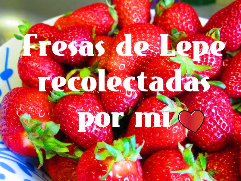 fresas leperas