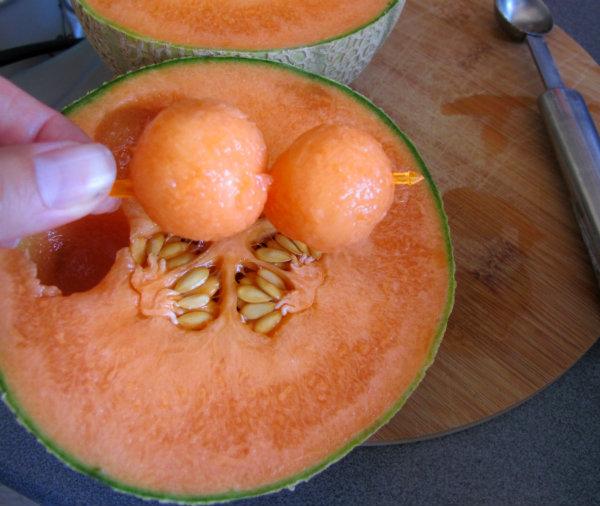 bolitas melón cantaloup