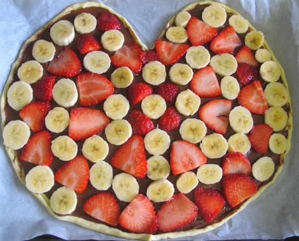 colocar fruta