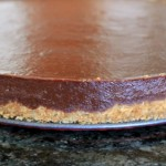 Tarta de chocolate y galletas sin horno