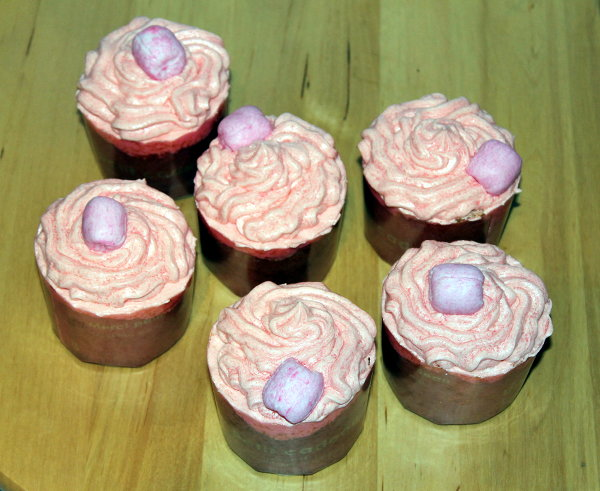 cupcakes veganos de chicle