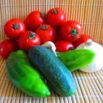 ingredientes para gazpacho andaluz