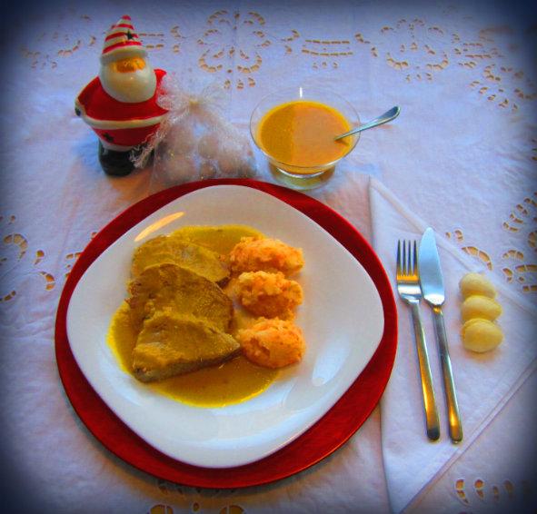 Redondo de ternera en salsa navide o un gato en mi cocina - Como rellenar un redondo de ternera ...