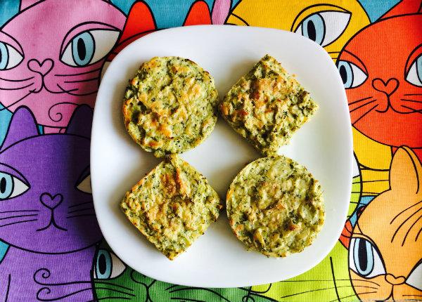 tartaletas de brocoli y patata